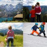 I bambini e la montagna