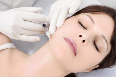 Un'applicazione di botox